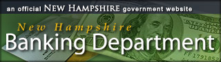 NH Banking Department banner