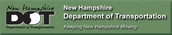 phplist header for the NH Department of Transportation