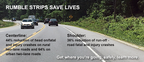 Rumble Strips Save Lives