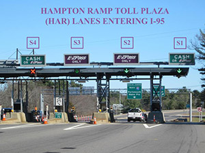 Blue star turnpike toll plaza turnpikes nh department of hampton side toll plaza sciox Choice Image