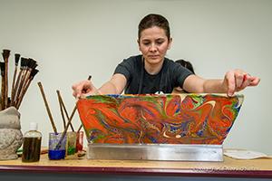 Ebru Painting Learning Center Nh Folklife