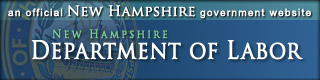 New Hampshire Department of Labor banner