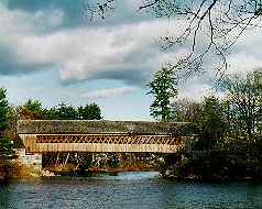 Henniker Covered Bridge - Henniker, NH 03242