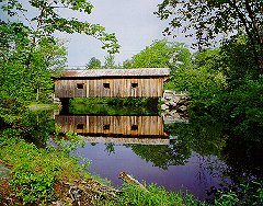 Waterloo Covered Bridge - Warner, NH 03278