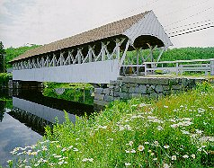 Groveton Covered Bridge - Northumberland, NH 03582