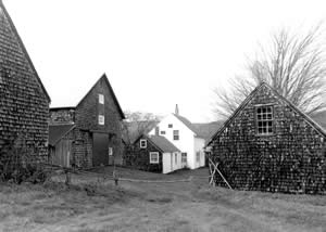 The Hersey Farm Historic District represents two active farmsteads with outbuildings and landscapes that have changed little since the early 20th century.