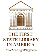 NH State Library 300th anniversary logo