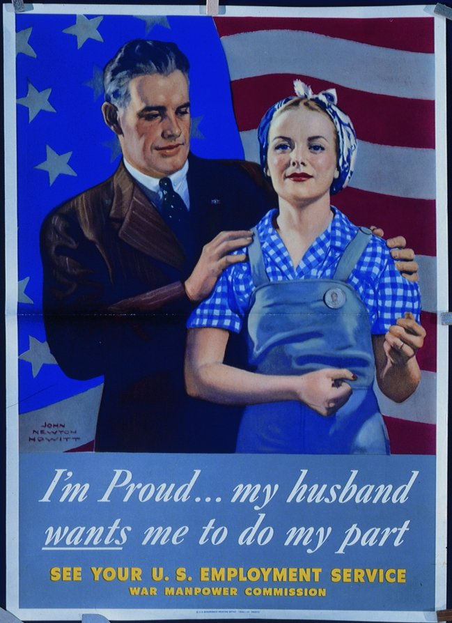 I'm proud (full page) - WWII Posters at New Hampshire