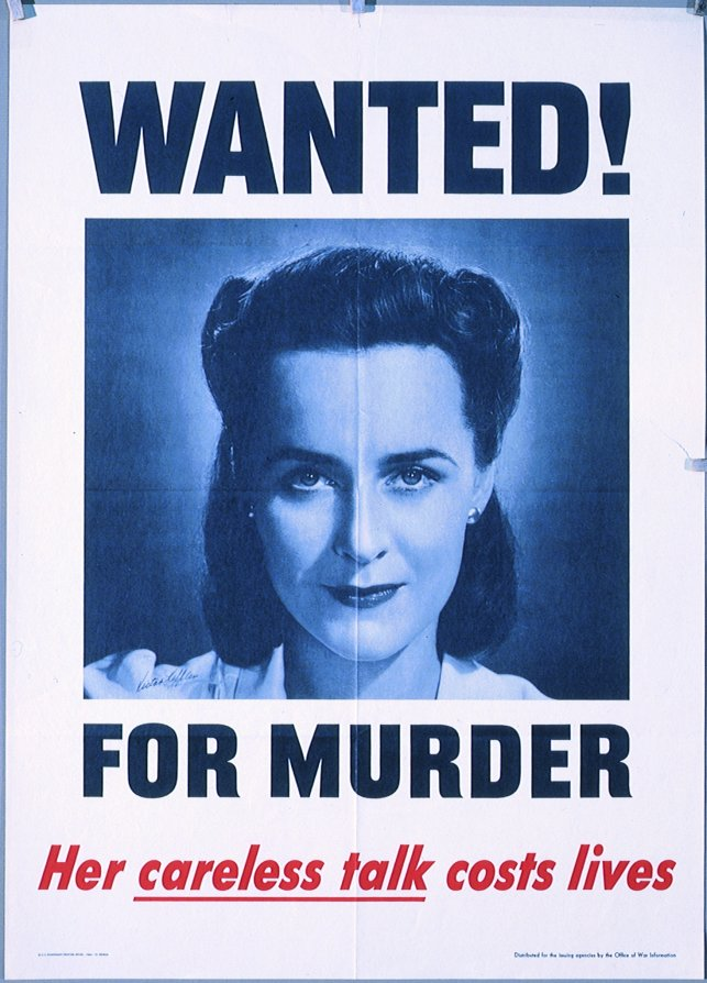 Wanted for murder.