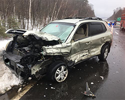 Motor Vehicle Accident Highway Closure Milton News And