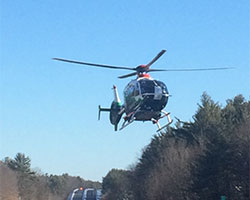 Serious Injury Motor Vehicle Accident, Route 16 South