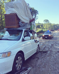 Overloaded Vehicle Stopped Along Interstate 93, Londonderry   News